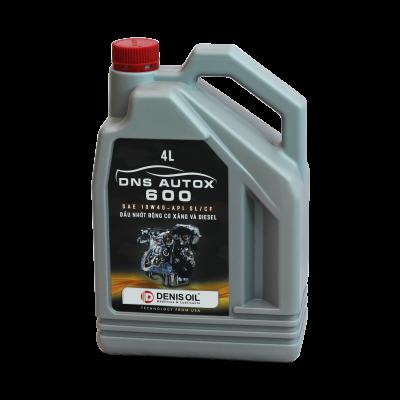 DNS AUTOX 600 SAE 10W40 API SL/CF Dầu nhờn cao cấp dành cho động cơ xăng và Diesel