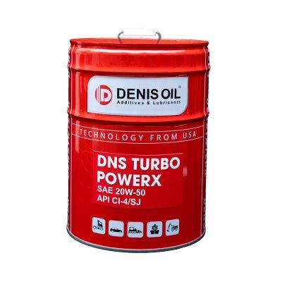 DNS TURBO POWERX SAE 20W50, API CI-4/SJ Dầu động cơ Diesel turbo tăng áp tải trọng nặng và công suất lớn